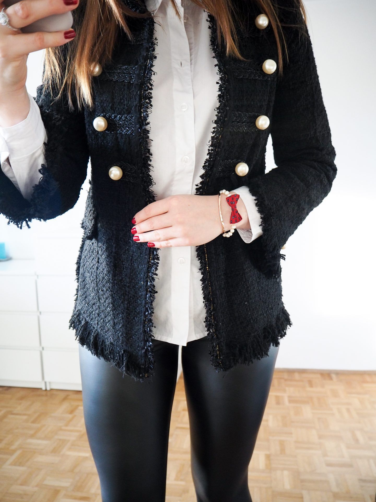 05ccc429 THE LITTLE BLACK JACKET - TWEED AND PEARLS   Clothing Ideas   Black ...