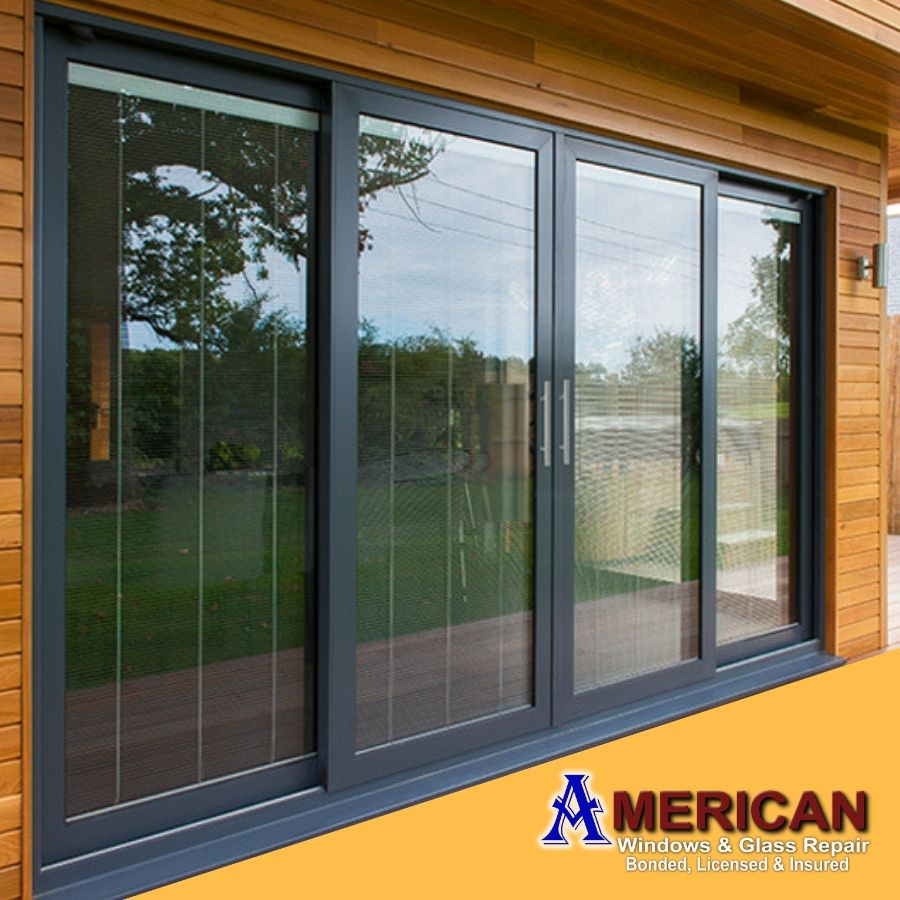 When It Comes To Patio Door Glass Repair Visit American Window Glass Repair Which Gives You Satisfi Contemporary Patio Doors Sliding Doors Exterior Patio Doors