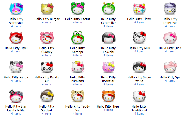 Hello Kitty Bumperpack By Pinky Von Pout Hello Kitty Hello Kitty Characters Kitty