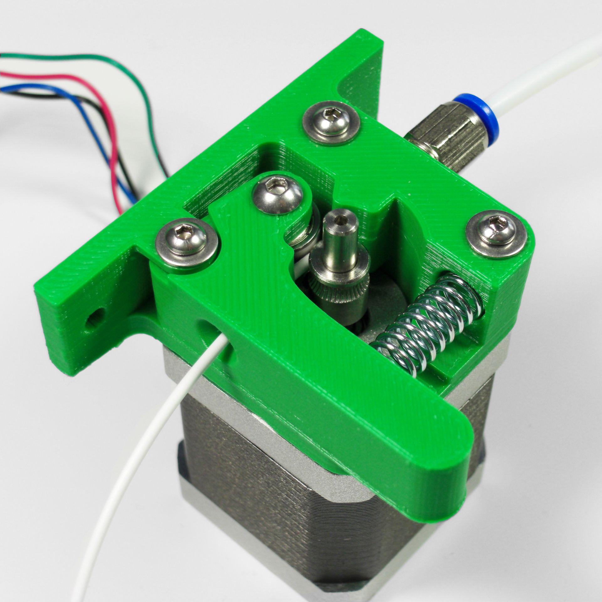 3d printer bowden extruder DIY pure green 3D ideas 3d