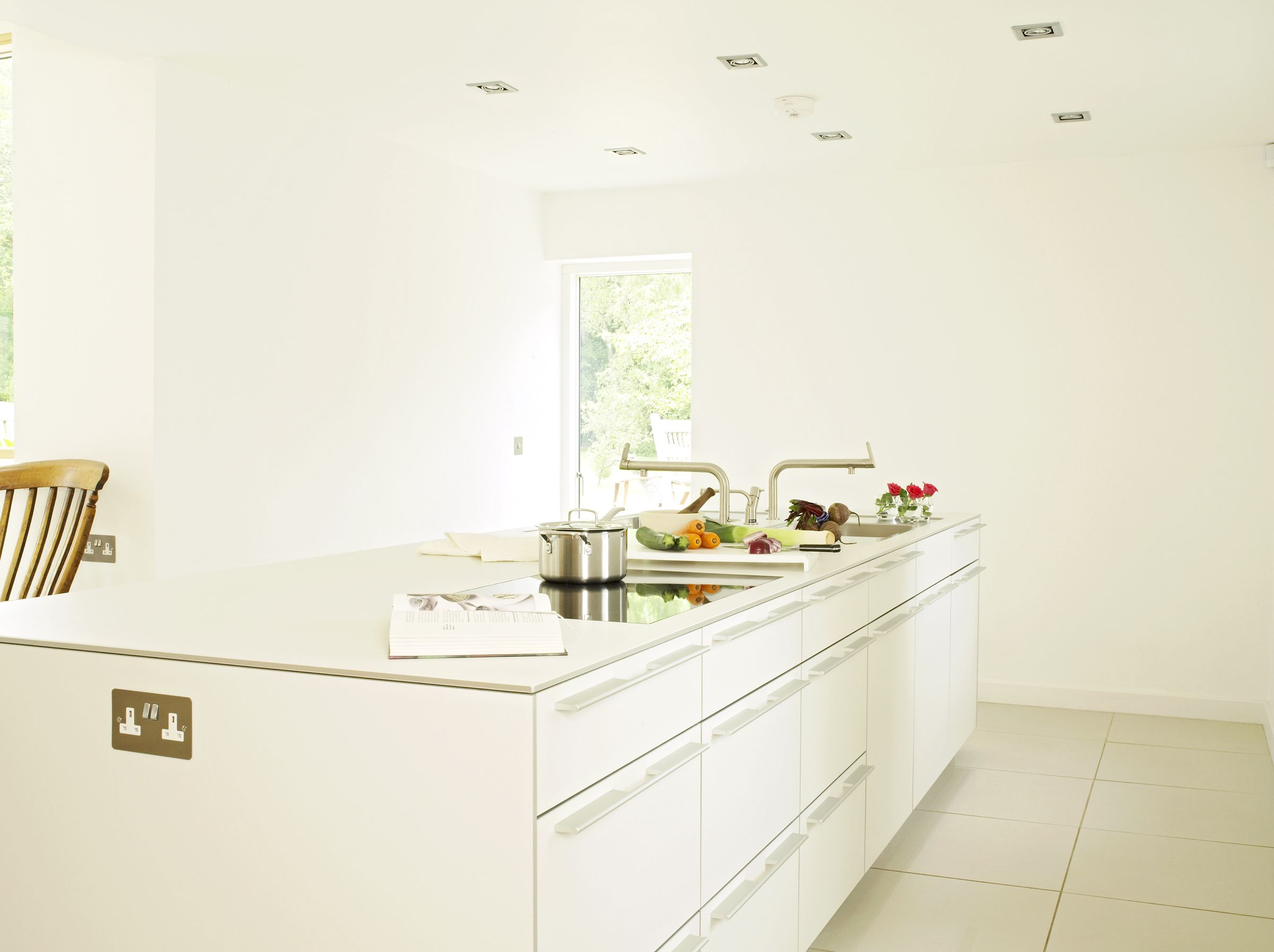 Depending on preference the bulthaup b3 kitchen can e with