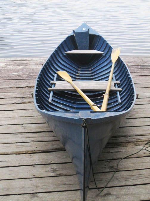 Adirondack Guide Boat Adirondack Rustic Boat Boat Painting