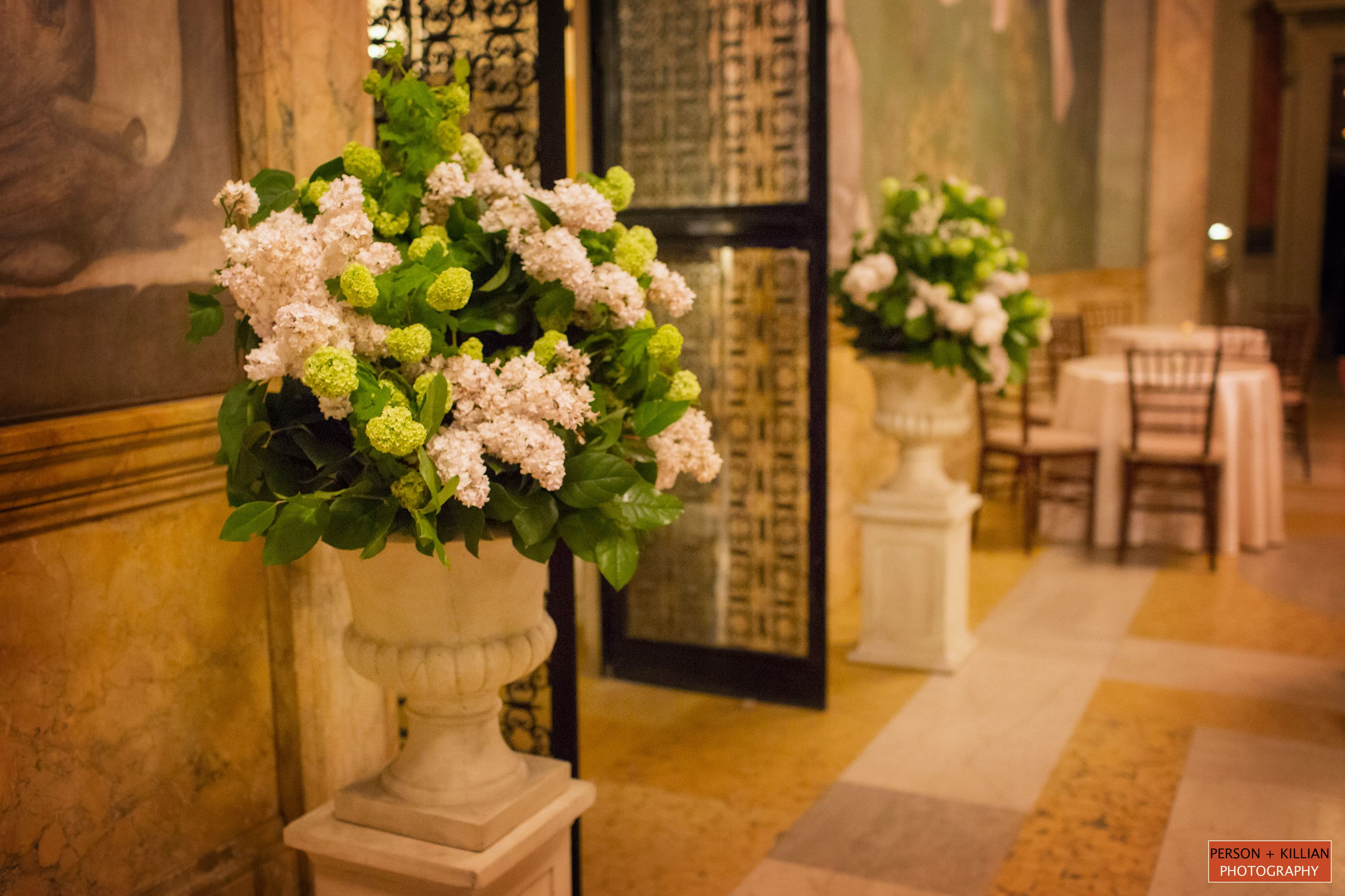 Flowers By Table U0026 Tulip, White And Green Wedding Flowers, Impressive  Floral Display, Boston Wedding Photography, Boston Event Photography, Boston  Public ...