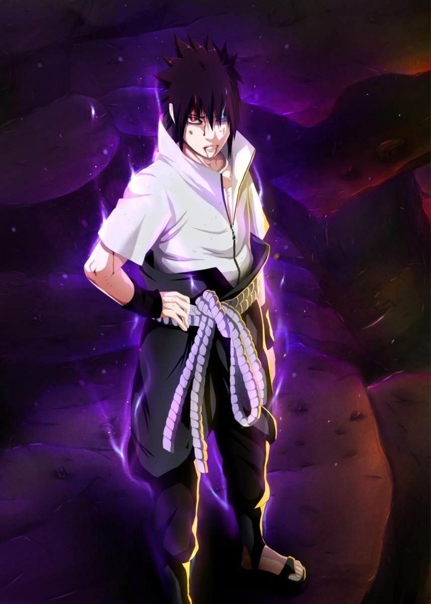 'Sasuke Uciha' Poster Print by Design Mas | Displa