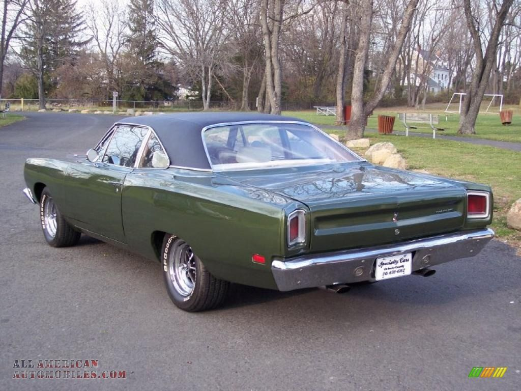 1969 plymouth roadrunner 1969 plymouth road runner 2 door coupe in limelight green poly photo