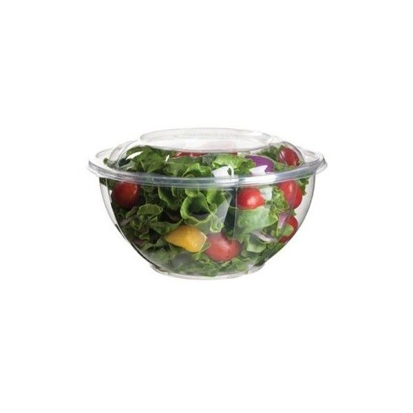 25 X Plastic Salad Food Takeaway Party Pots Bowls Containers Small