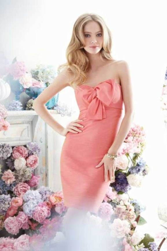 Elegant Spring Peach   bridesmaid dresses by jim-hjelm 5256_zm