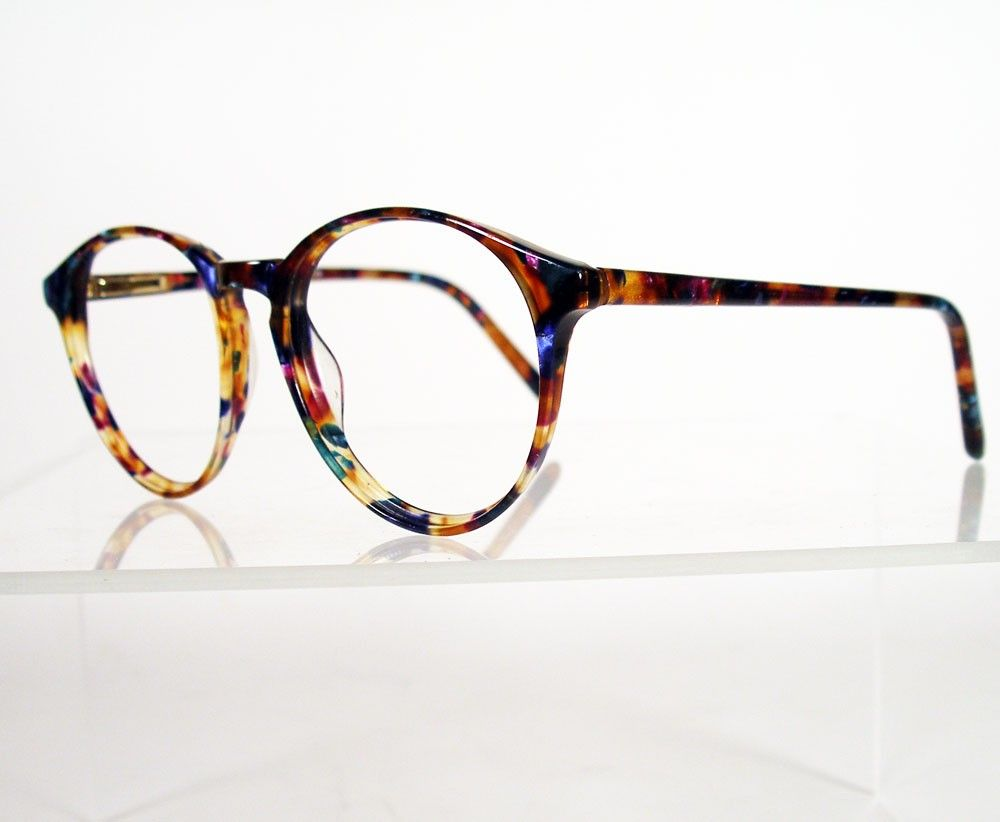 ANNE KLEIN II Multi Colored Tortoise Eyeglass Frames by Chigal ...