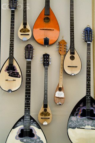 Bouzouki For Sale in Old Plaka District, Athens, Greece