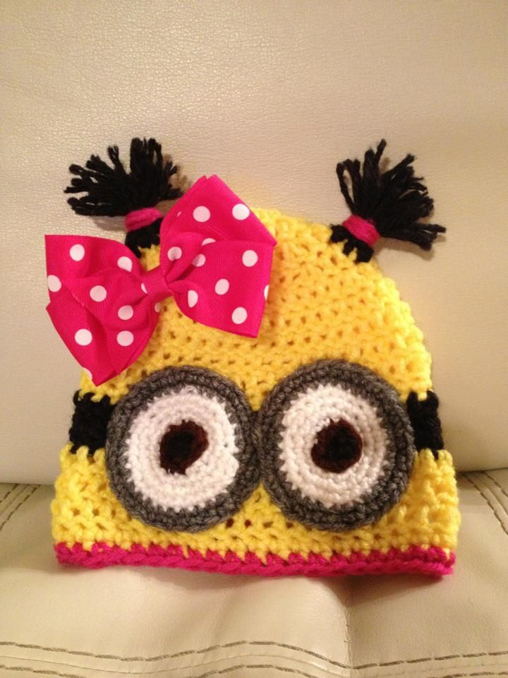 Girlie Minion - Despicable Me, its not my fav but its kind of cute ...
