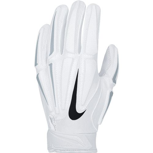 Nike Superbad 3.0 Youth Receiver Gloves - White
