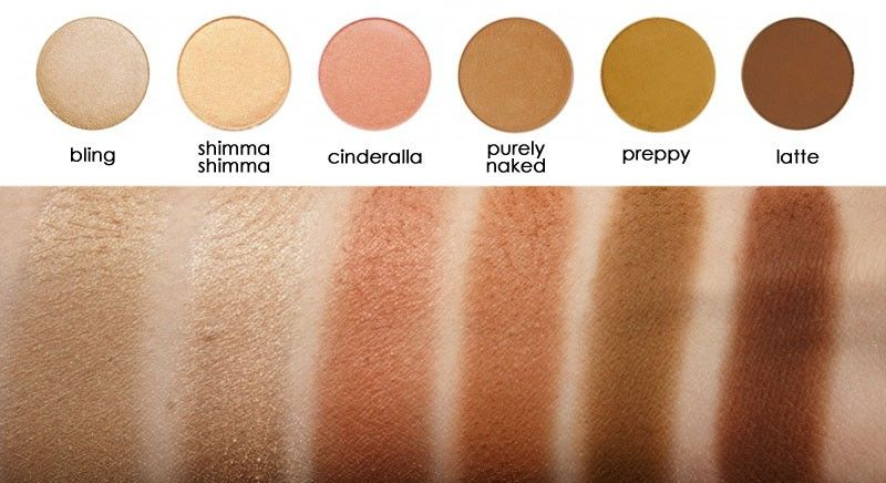 Latte Makeup Geek Eyeshadow Pans Eyeshadows Eyes Makeup Geek Eyeshadow Makeup Geek Eyeshadow