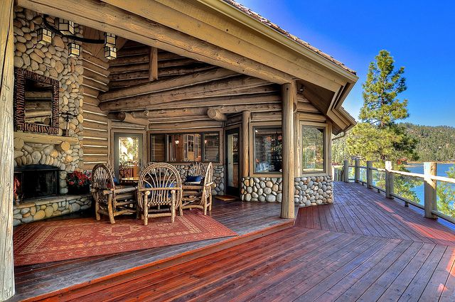Big bear cabin 10 the grand lakefront 3bed loft 3 5bath for Big bear cabins lakefront
