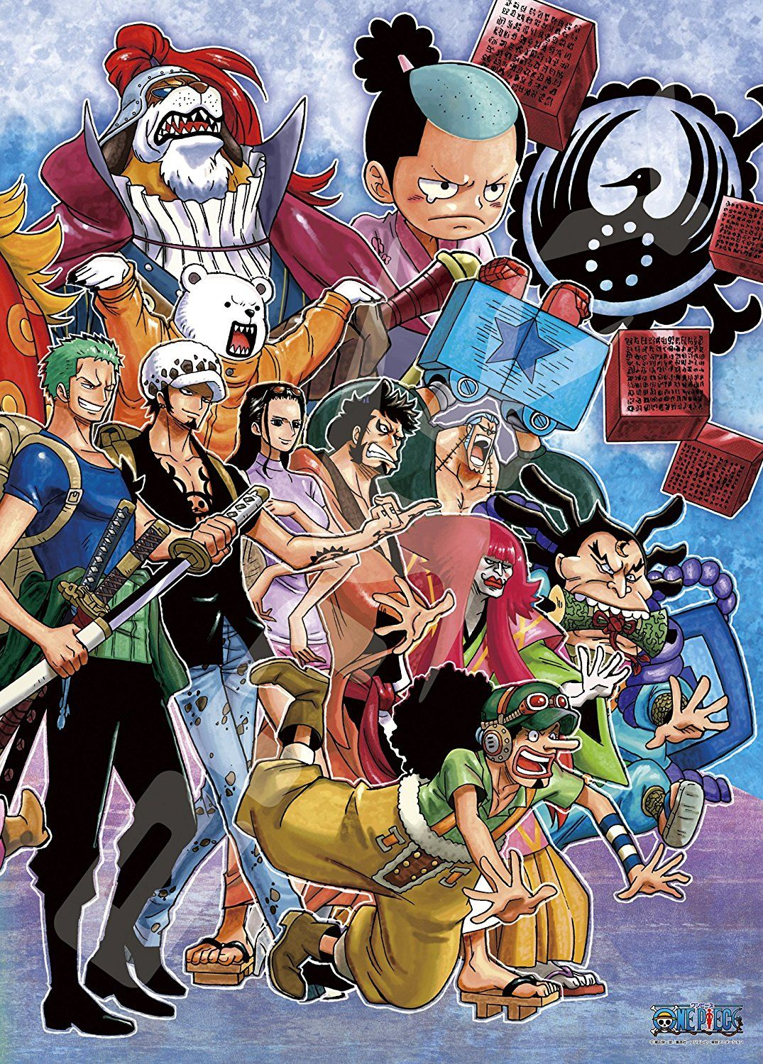The Wano Crew One Piece Tumblr One Piece Manga One Piece