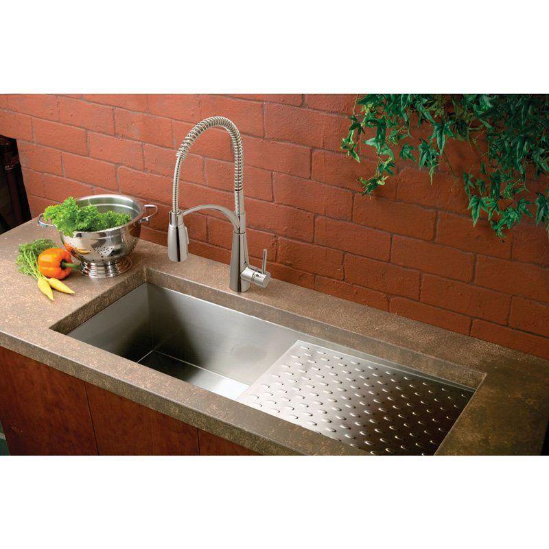 Elkay Avado Lkav4061 Semi Professional Single Handle Kitchen Faucet Lkav4061cr Elkaykitchenf Kitchen Sink Remodel Sinks Kitchen Stainless Steel Kitchen Sink