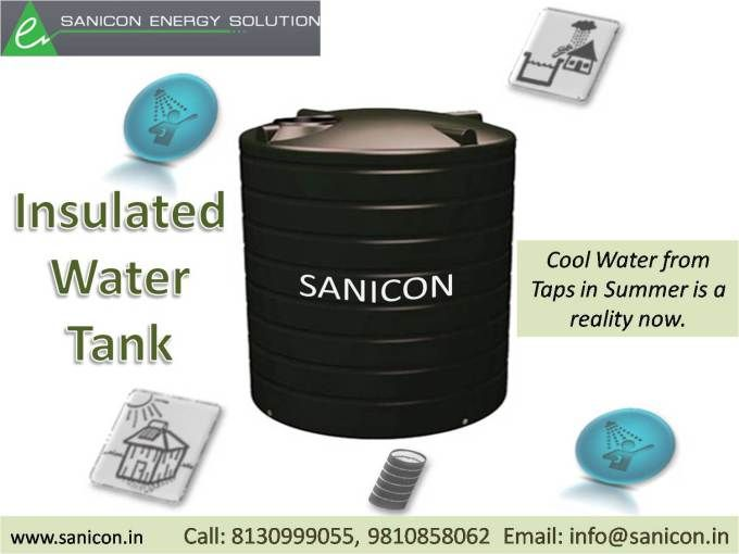 Insulated Water Tank For Cool Water From Taps In Summers Insulated Water Tank Water