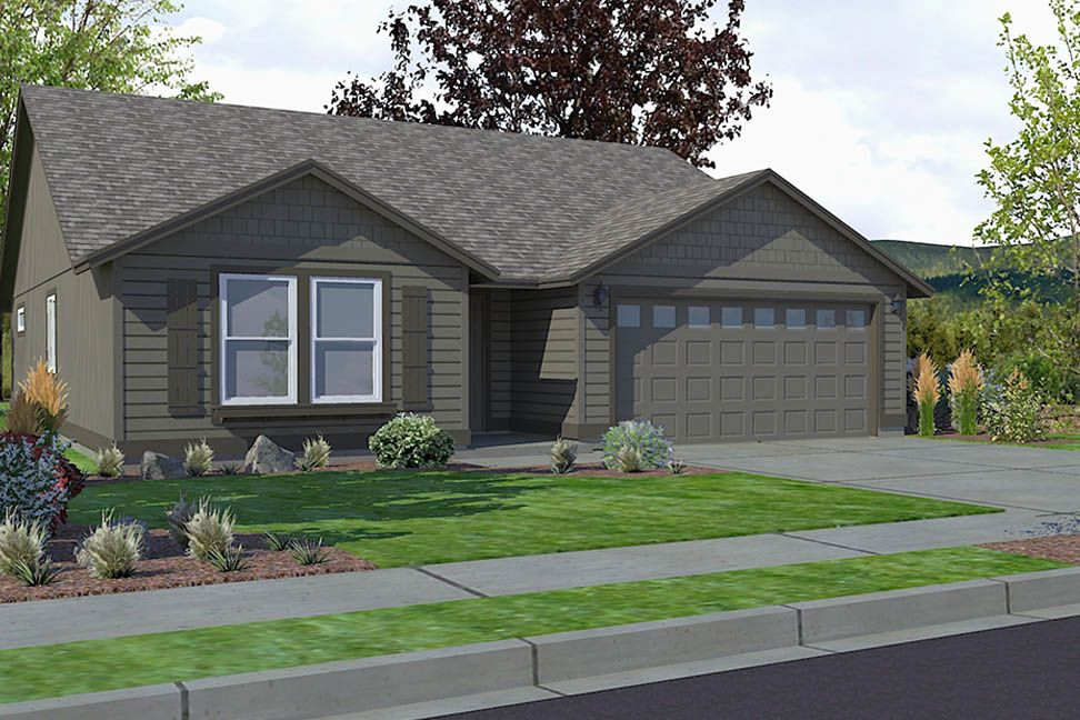 The Edgewood By Hayden Homes The 1408 Square Foot Edgewood Is A Mid Sized Home Catering To Those Who Value Both Comfort And Ef Hayden Homes House Level Homes