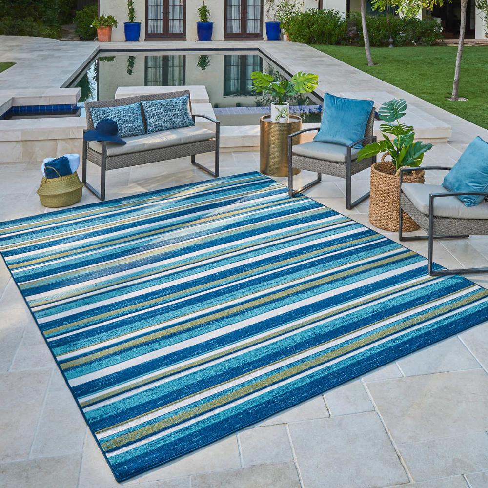 Elements Indoor Outdoor Cabana Area Rug In 2020 Large Outdoor Rugs Outdoor Deck Rugs Outdoor Rug Porch