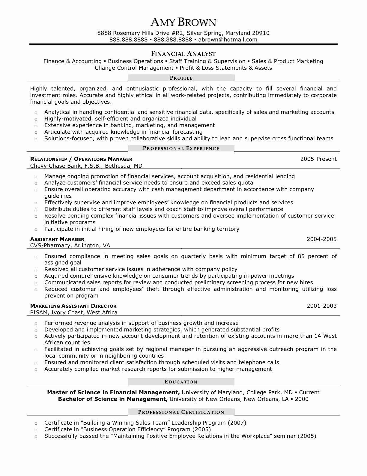Junior Business Analyst Resume Elegant Financial Analyst Resume Sample Business Analyst Resume Financial Analyst Resume Objective Examples