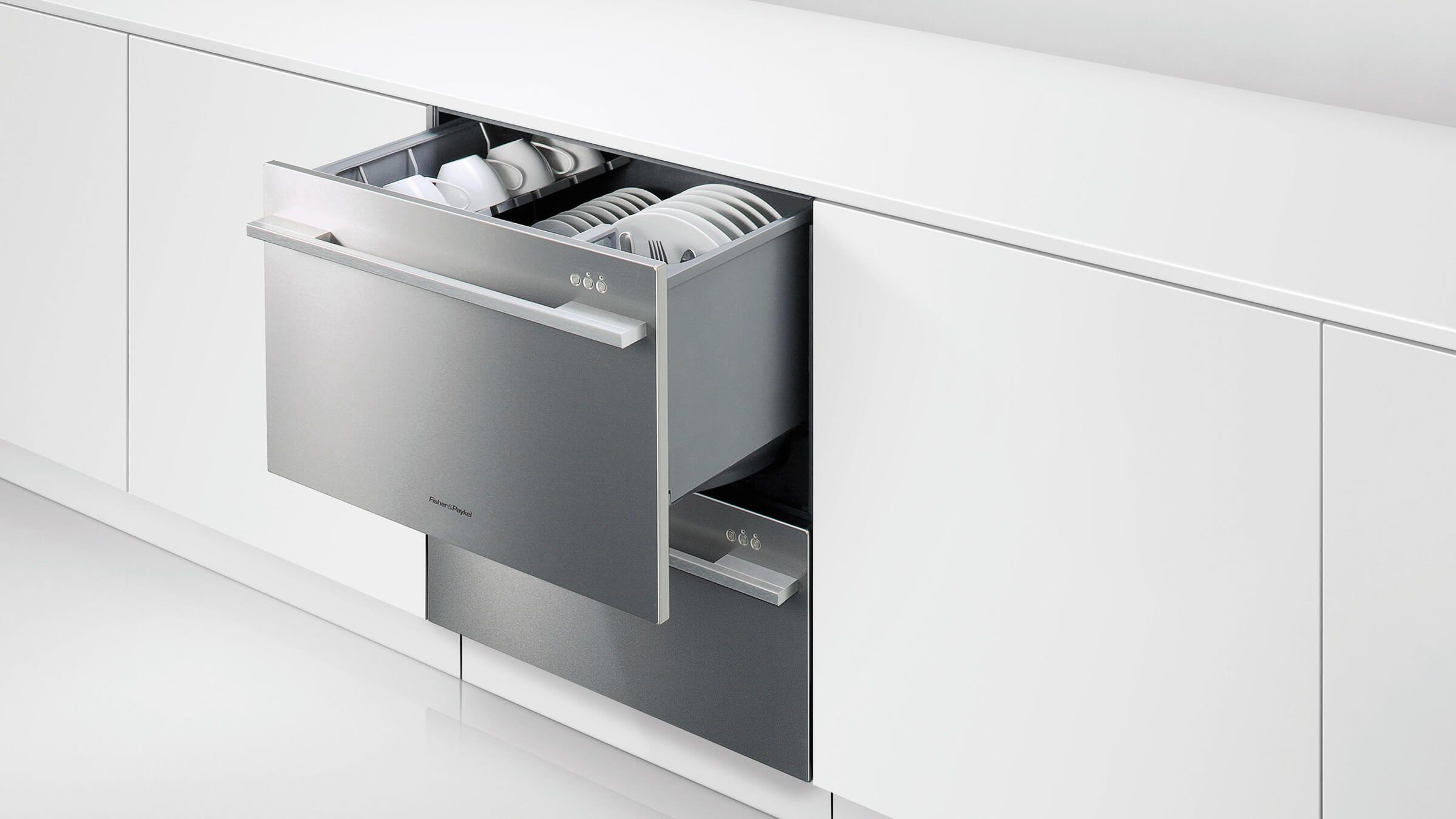 Fisher Paykel Dishwasher Drawers Vs Standard Dishwashers Review Drawer Dishwasher Double Drawer Dishwasher Fisher Paykel Dishwasher