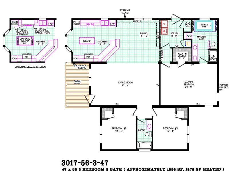 Take advantage of our model home clearance to get a great price on a – Advantage Home Builders Floor Plans