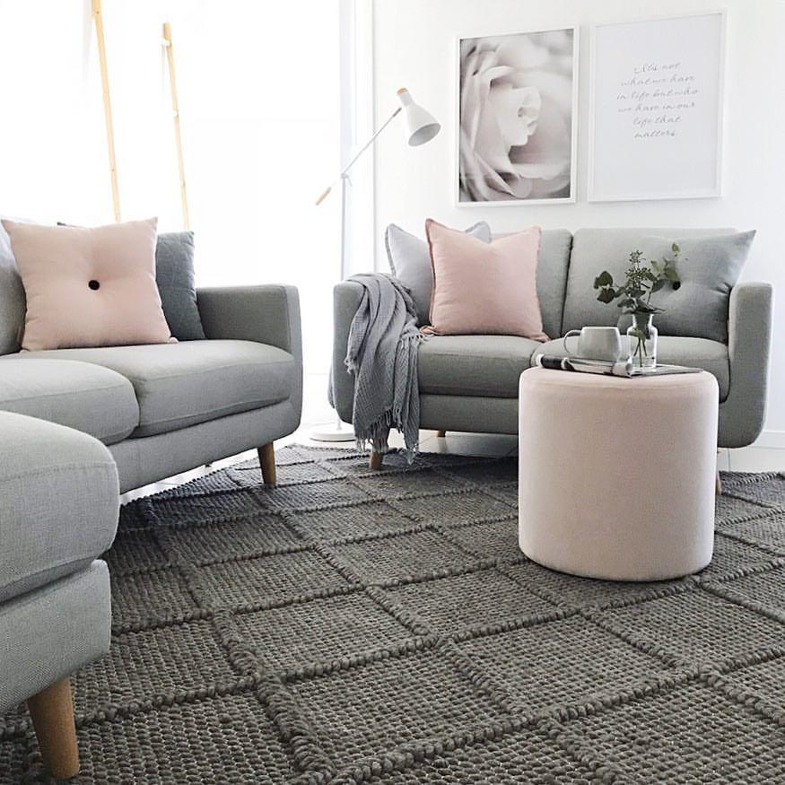 Scandi Inspired Living Room Featuring The Oskar 325 Grey