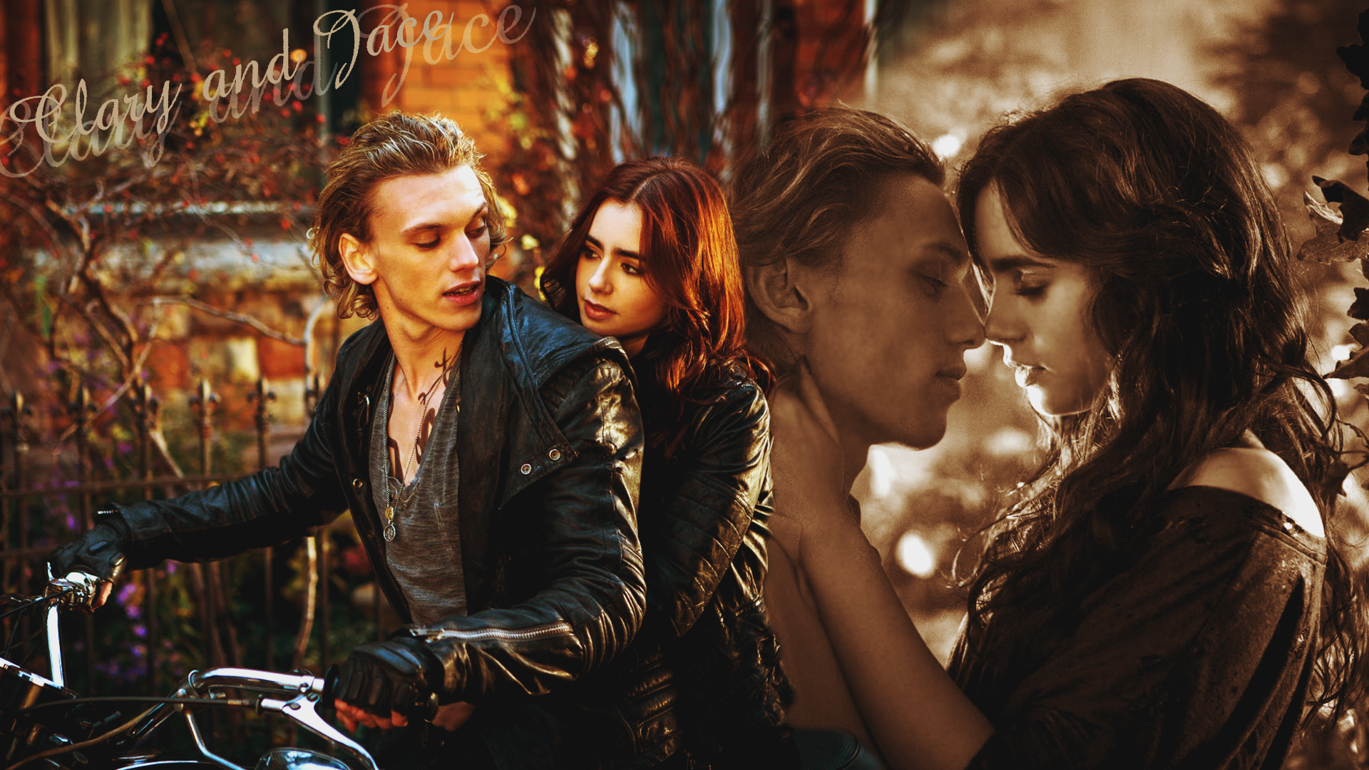 Clary and Jace wallpapers - Mortal Instruments Wallpaper ...