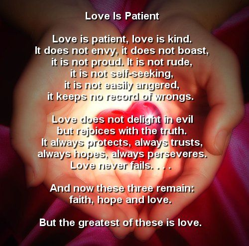 Catholic prayer for love
