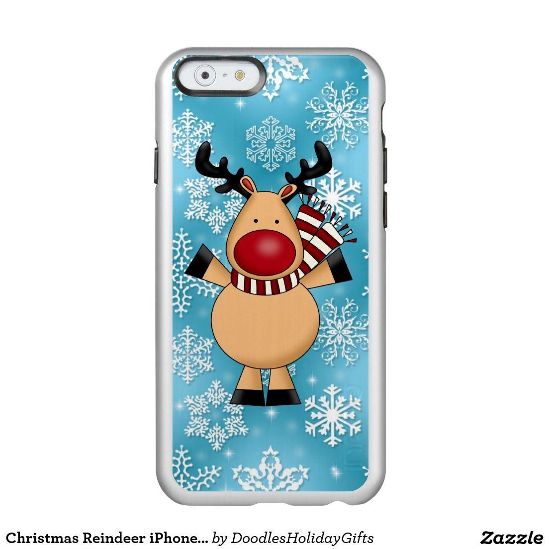 Christmas reindeer iphone 6 incipio case incipio feather