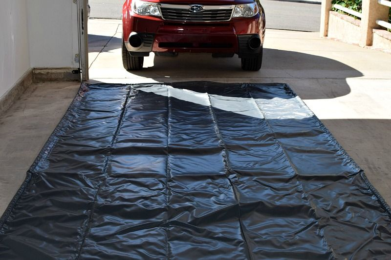 The Best Garage Floor Mats For Snow And Winter Garage Floor Mats Vinyl Garage Flooring Garage Floor