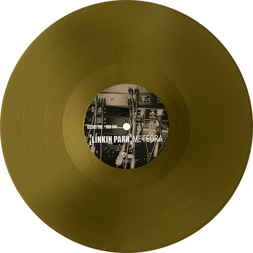 Meteora, Album By Linkin Park. Metallic Gold Vinyl Limited