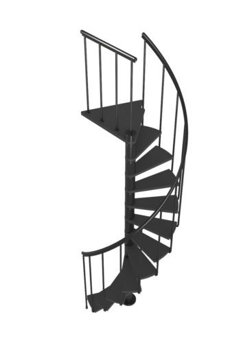 Best Details About Dolle Calgary Loft Spiral Staircase Kit 400 x 300