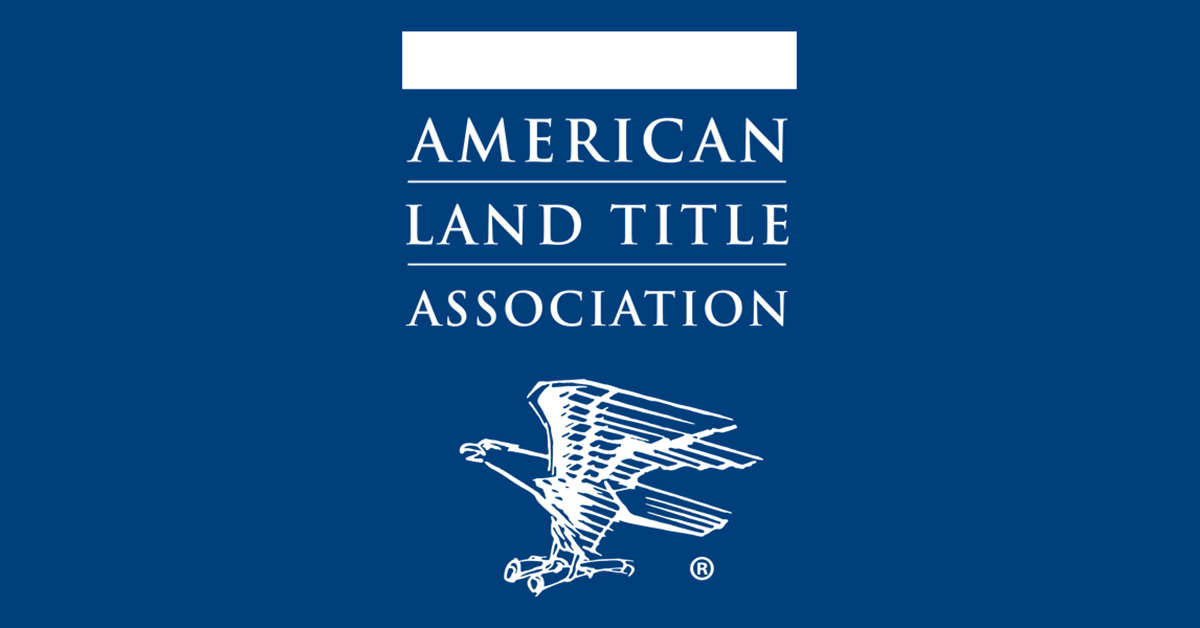 The American Land Title Association Founded In 1907 Is The