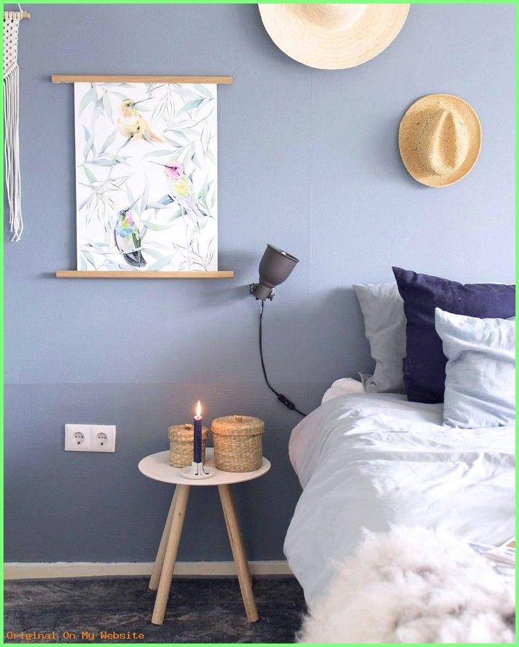 Schlafzimmer Wandfarbe Ideen Die Farbe Blau So Reizvoll