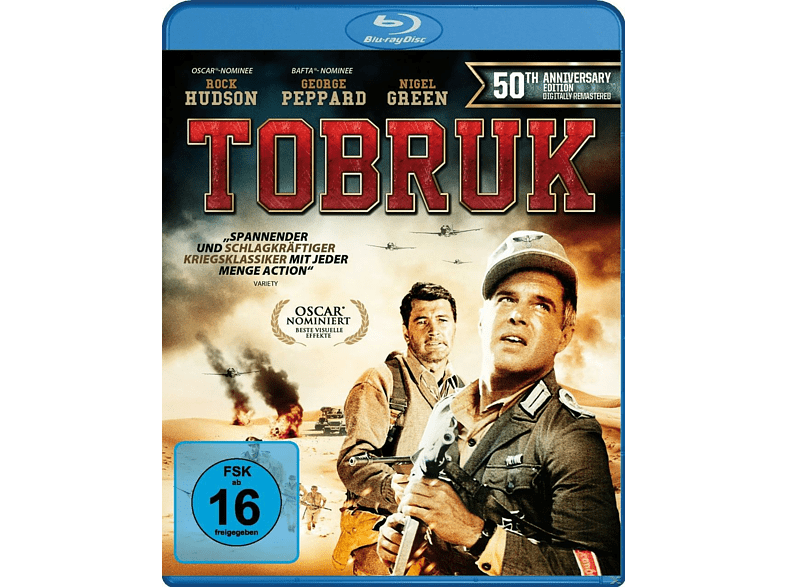 Tobruk [blu-ray]