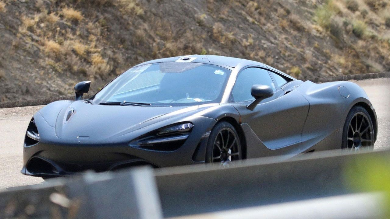 Sinister McLaren P14 Spotted Ahead Of Official Debut - #McLaren