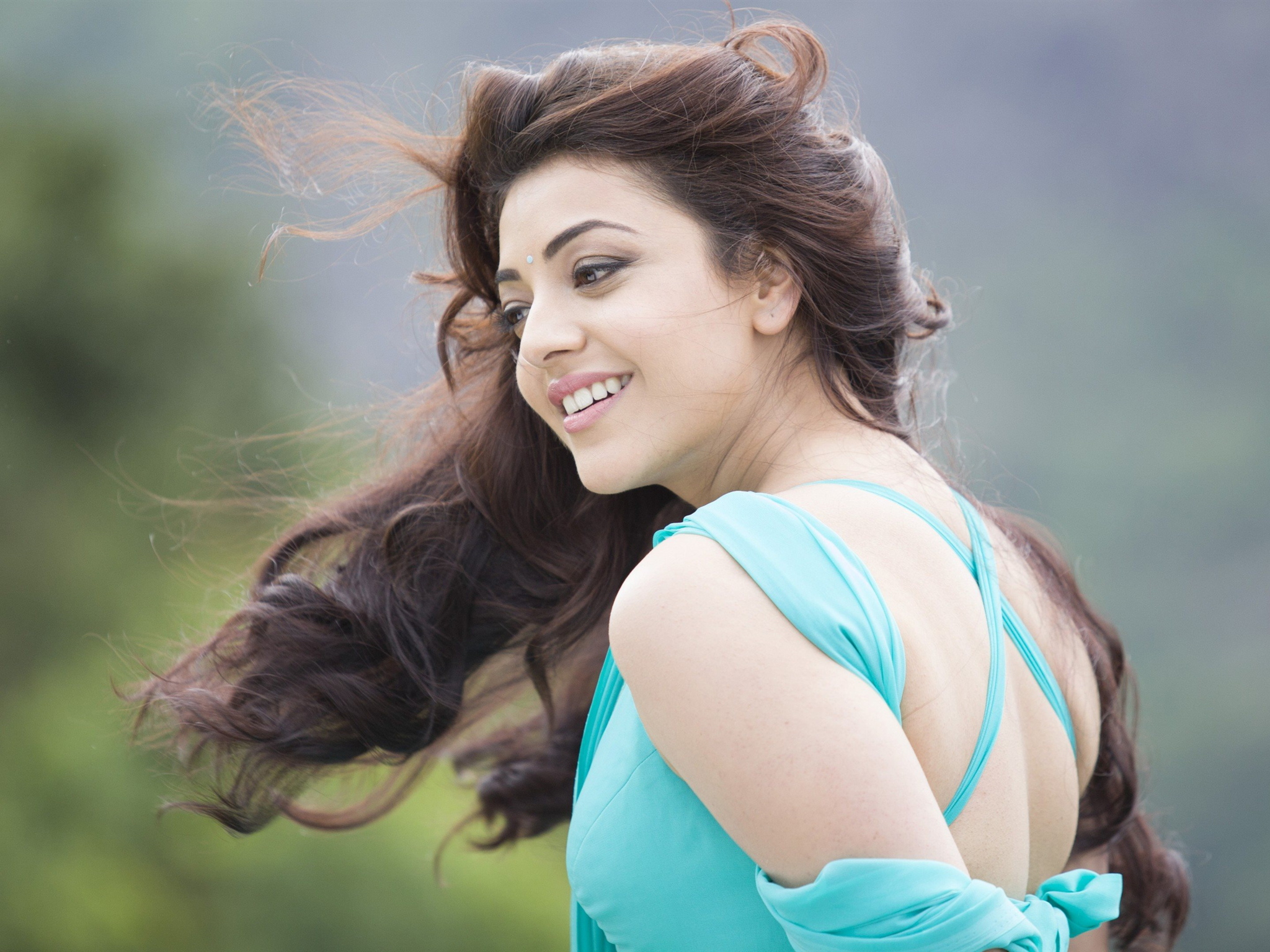 Kajal Aggarwal, portrait, 4k, Indian actress, brunette ...