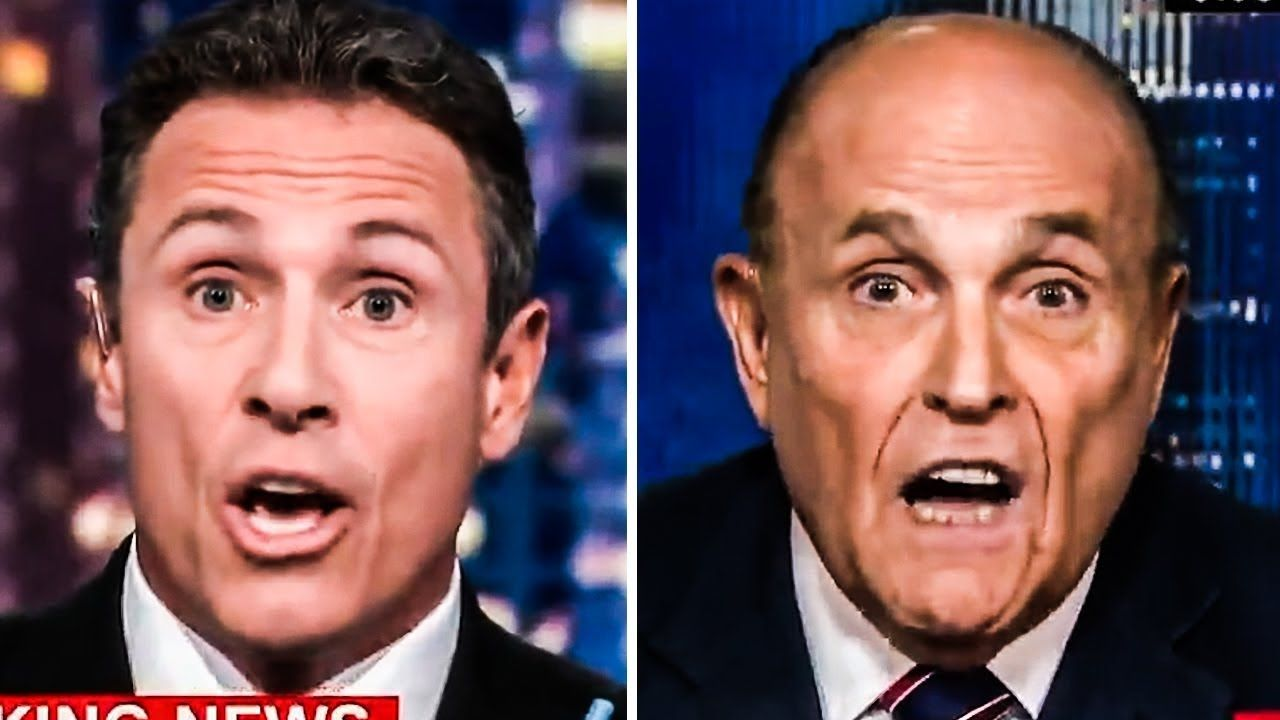 Rudy Giuliani Has A Complete Meltdown On Cnn Rudy Giuliani