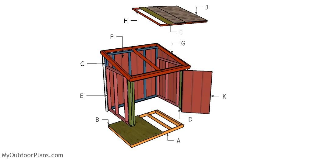 Portable Generator Enclosure Plans In 2020 Diy Shed Generator Shed Wooden Playhouse