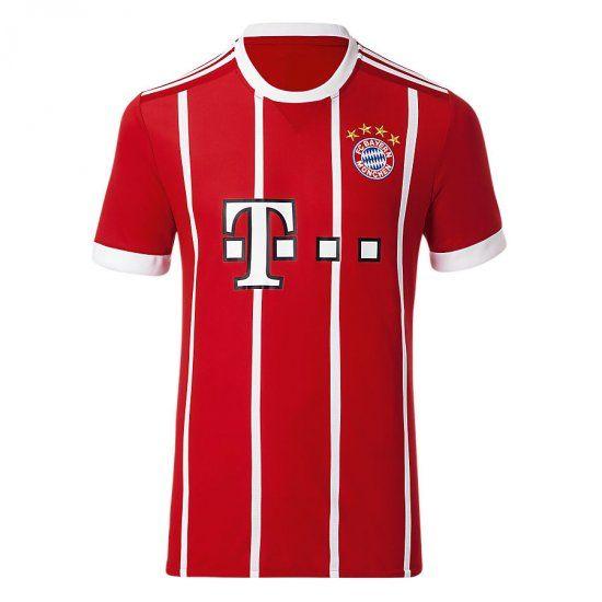 fc bayern munich 17 18 season home shirt fcb 2017 jersey  84a91129378
