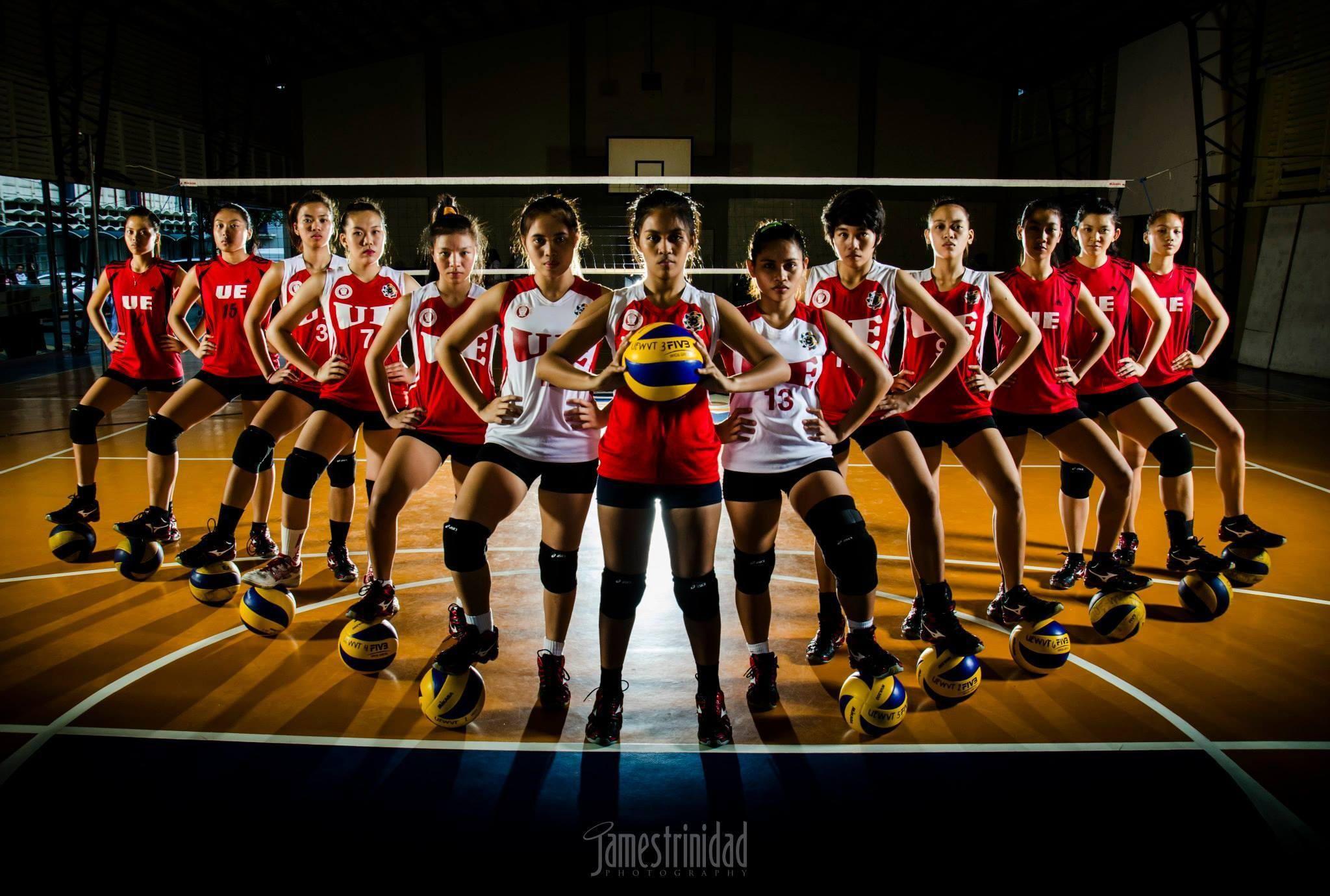 Ue Red Warriors Women S Volleyball Team Women Volleyball Volleyball Team Warrior Woman