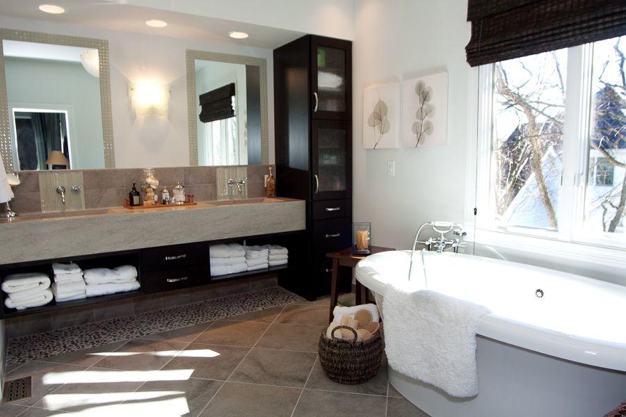 our favorite bathroom projects modern master - Rustic Modern Master Bathroom