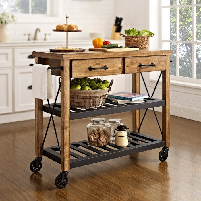 20 Recommended Small Kitchen Island Ideas On A Budget Kitchenislandideas Kitchen Cart Kitchen Trolley Portable Kitchen Island