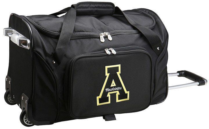 b21f9cb3b8 Travel like a champ with this spacious and portable Wake Forest Demon  Deacons wheeled duffel bag from Denco.
