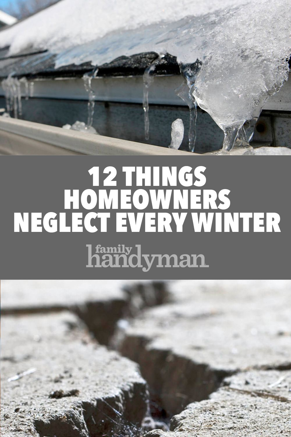 12 Things Homeowners Neglect Every Winter Winter House Homeowner Home Maintenance