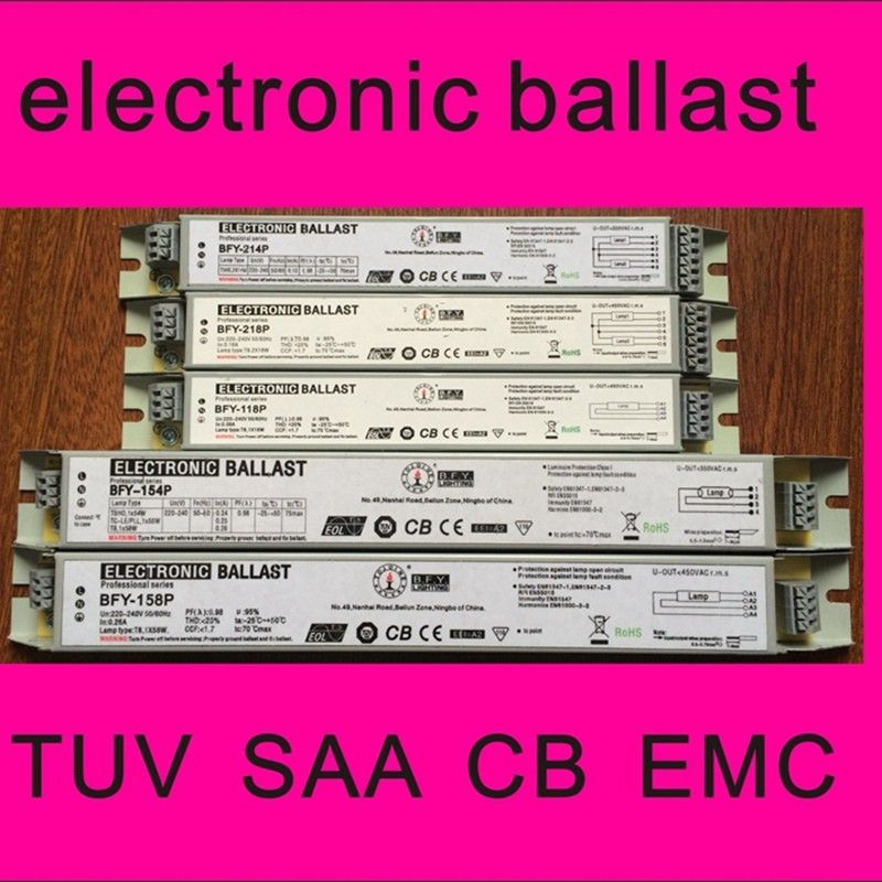 T8 electronic ballast 3/4x18W 3/4*18w one ballast for four