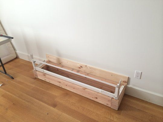 Small Space Solution: A DIY Murphy Bed Made With IKEA Parts | Diy ...