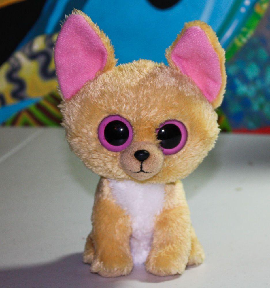 07f0a6d6dd0 Rare retired ty 2011 nacho chihuahua dog beanie boo 6