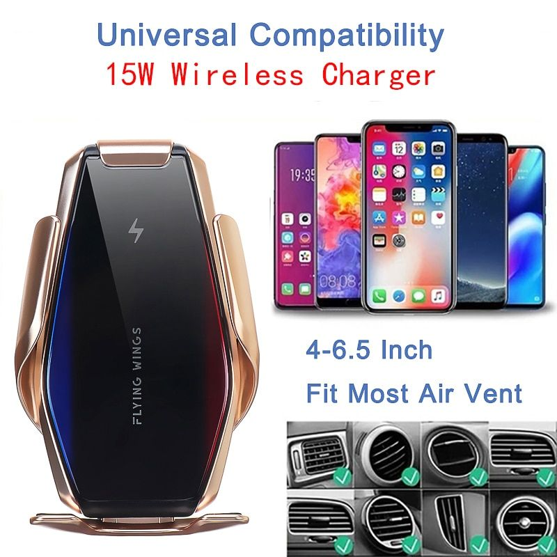 15w Wireless Charger Holder Wireless Charging For Iphone 11 Pro Xs Max Xr X For Samsung S10 S