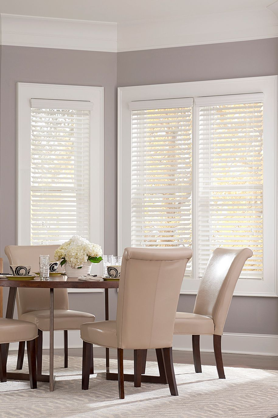The Ultimate Guide To Blinds For Bay Windows Blinds Com Window Treatments Living Room Living Room Blinds Wooden Blinds Living Room